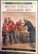 q K005 - Osprey ELITE n. 32 - British Forces in Zululand (1879)