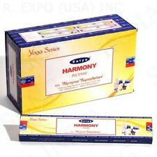 Satya Sai Baba Harmony Yoga Series Nag Champa 100 Grams Incense Sticks FREE SHIP