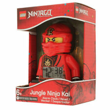 JUNGLE NINJA KAI ALARM CLOCK ninjago lego MISB legos NEW minifigure minifig red