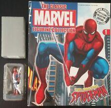 Supereroi Marvel collezione fabbri eaglemoss Spiderman fascicolo #1 UK