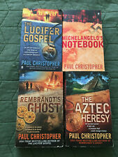 PAUL CHRISTOPHER 4 books, Paperback - in the FINN RYAN series COMPLETE