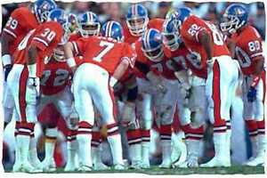 John Elway Denver Broncos Super Bowl XXII Art Print