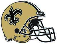 NEW ORLEANS SAINTS HELMET Vinyl Decal / Sticker ** 5 Sizes **