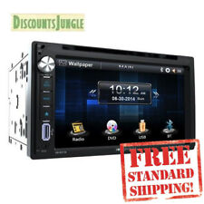 """Soundstream Double Din VR-651B DVD/CD/MP3 Player 6.5"""" LCD Display Bluetooth"""