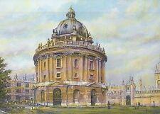 Radcliffe Camera Oxford University England Library - United Kingdom Art Postcard