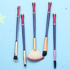 5PCS Wonder Woman Cosmetics Make Up Brushes Cosplay Makeup Brush Set Xmas Gift