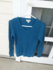 St. Johns Bay Men's Blue Pullover Sweater Size S