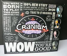 Cranium WOW Board Game ADULTS 2007 Fantastic UNUSED condition! 100% Complete!