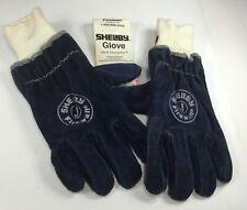 New Shelby 5227 Jumbo Midnight Blue Cowhide Xxl Pr Firefighters Gloves