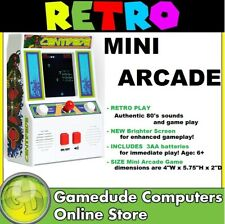 Retro Styled Mini Arcade Centipede Video Game Includes 3 AA Batteries