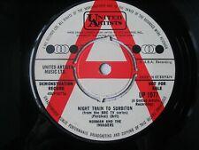 "Norman And The Invaders - Night Train To Surbiton. 7"" Vinyl Single. PROMO DEMO"