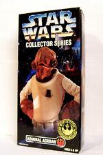 """Star Wars Collector Series Admiral Ackbar Figure 12"""" Rebel Alliance 1997 Kenner"""