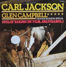 """Vinyle 33T Carl Jackson / Glen Campbell """"Duelin' Banjos (Delivrance)"""""""
