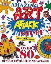 Amazing Art Attack Stuff by Neil Buchanan (Hardback, 2005)