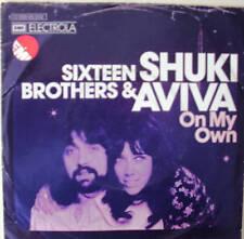 """7"""" 1973 ! SHUKI & AVIVA : Sixteen Brothers // VG+? \"""