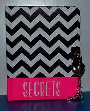 REDUCED Locking Secret Notebook/Journal Heart Shaped Keys & Padlock