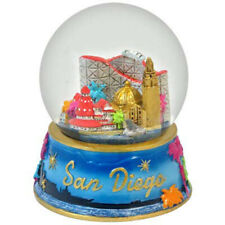 San Diego California Colorful Snowdome Snow Globe-New - - 65 Mm