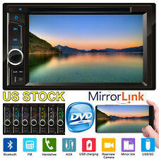 For Subaru Car Stereo Head Unit DVD/CD Player 6.2'' 2Din in Dash Audio Radio
