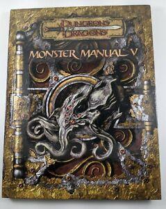 Dungeons and Dragons V3.5 Monster Manual V