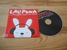 CD Indie Lali Puna-I thought I was over that (19) canzone Morr Music CB