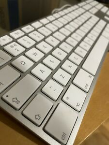 Apple A1243 USB Wired Keyboard - QWERTY Extended Numerical Keypad