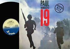 """PAUL HARDCASTLE 19 (Destruction Mix) 12"""" VINYL Chrysalis 1985 UK CHS 22 2860 A/B"""