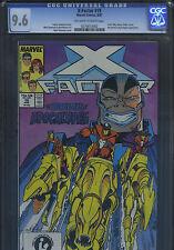 X-FACTOR #19 MARVEL Comics Aug 1987 CGC 9.6 NM+ OW/W HORSEMEN APOCALYPSE B/O
