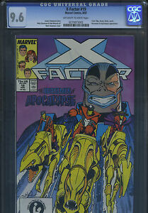 X-FACTOR #19 MARVEL Comics Aug 1987 CGC 9.6 NM+ OW/W HORSEMEN APOCALYPSE B/O