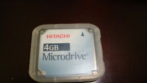 Hitachi 4GB Microdrive Hard Drive Type II