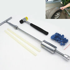 Car Body Dent Puller Slide Hammer Paintless Removal Repair Hot Melt Glue Tools