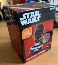 TOMY Star Wars Pop-Up Darth Vader Game with Sounds Collectable Toy (Boxed)