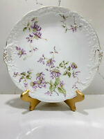 Antique CT Altwasser Carl Tielsch Germany Handled Cake Plate