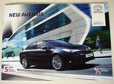 Toyota . Avensis . New Avensis . October 2015 Sales Brochure