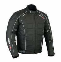 MOTERO Men Motorcycle Motorbike Waterproof Windproof CE Armoured Cordura Jacket