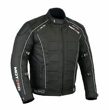MOTERO Men Motorcycle Motorbike Waterproof Windproof CE Armoured Cordura Jacket