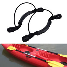 2 Sides Kayak Carry Handle W/Paddle Park Bungee J Hooks Marine Boat Mount Handle