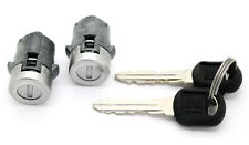 NEW Door Lock Cylinder Set w/GM Logo Keys / For 2001-2006 GM Trucks & SUVs