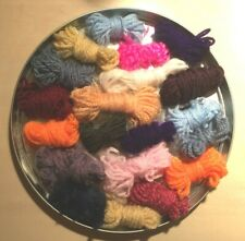 100g  Small Wool Oddments great for crafts crochet etc
