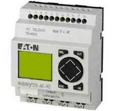 Moeller CONTROL RELAY 90x71.5x58mm 8A 240V AC 8-Inputs 4-Outputs LCD Display