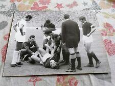 MILAN AC - CAGLIARI CALCIO, 1960'S ORIGINAL OLD PHOTO