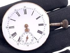 Unknown Hand Manual Vintage 43 mm Pocket Watch Doesn'T Works for Parts