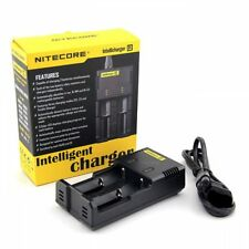 Intellicharge NiteCore i2 Universal Battery Charger CR123A 26650 18650 AA/AAA