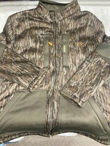 NWT New DRAKE Waterfowl Hunting HYDROHUSH MOSSY OAK Mid-Weight Full JACKET $250