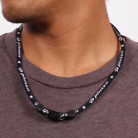 Phiten Classic Titanium Necklace Black