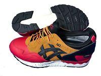 ASICS Gel Lyte V G-TX Gore-Tex Mens Boys Trainers Shoes Red / Black RRP £100