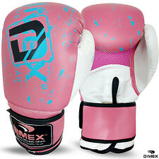 Professional Boxing Gloves Sparring Glove Punch Bag Training MMA Mitts Black/white/red 14oz