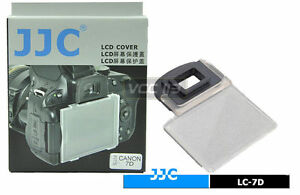 JJC Canon EOS 7D Camera LCD Display Optical Glass Cover Screen Protector Guard