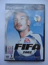 Fifa 2002 World Cup Korea Japan Game for Sony Playstation 2 PS2 NTSC J SEALED