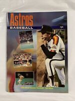 Houston Astros 1986 Official Score Book vs. San Diego Padres