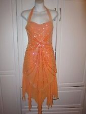 Womens Paris by Mon Cheri prom/evening gown, size 4, Sequin Beaded Flapper Dress